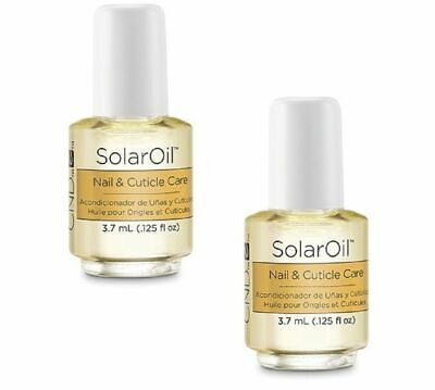 CND Mini SOLAR OIL Nail & Cuticle Conditioner 2x3.7ml