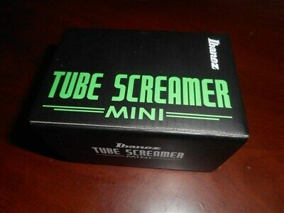 NEW - Ibanez Tube Screamer Mini Guitar Effects Pedal - TSMINI