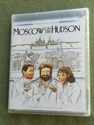 Free*Postage New Moscow On The Hudson Blu-Ray Robin Williams Paul Mazursky Rey