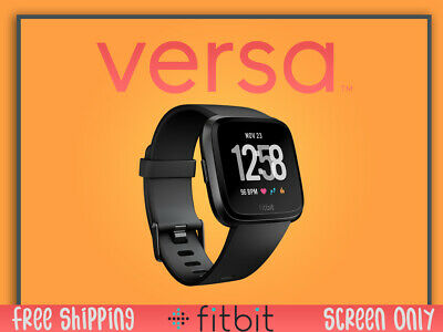 Fitbit Versa Smartwatch Heart Rate Monitor And GPS Tracker - Brand New Pebble
