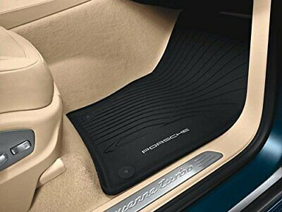Porsche Cayenne 2012 to 2014 All Weather Floor Mats with 4-zone Climate Control