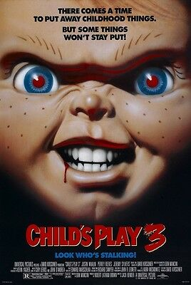 Child's Play movie poster : 11 x 17 inches : Chucky Doll, Horror
