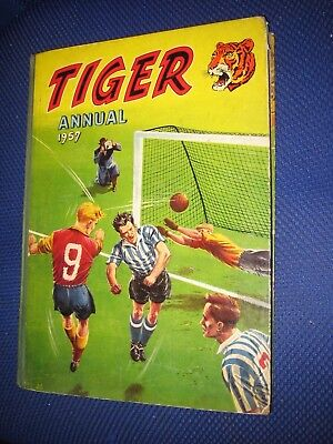 First Ever Tiger Annual 1957 - unclipped