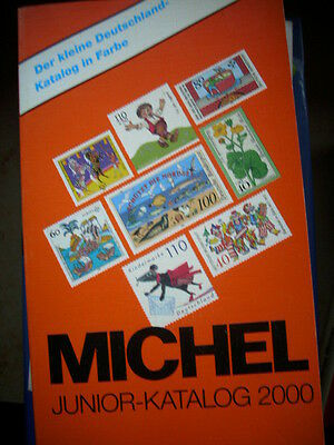 Michel Junior Katalog 2000 Briefmarken Deutschland
