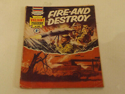 VALIANT PICTURE LIBRARY,NO 143,1969 ISSUE,GOOD FOR AGE,50 yrs old,RARE COMIC.
