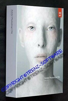 Adobe Photoshop CS6 deutsch Macintosh Vollversion Box Orginal-DVD  -incl. MwSt.