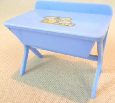 Vintage Dolls House Furniture - Renwal No122 Baby Changing Table/Bath C1950s USA
