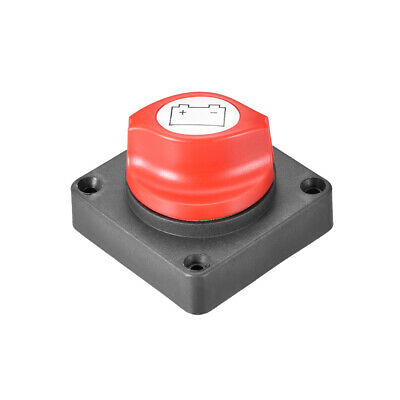 DC 12-24V Battery Disconnect Switch Cut/Shut Off Marine Battery Switch 300 Amp