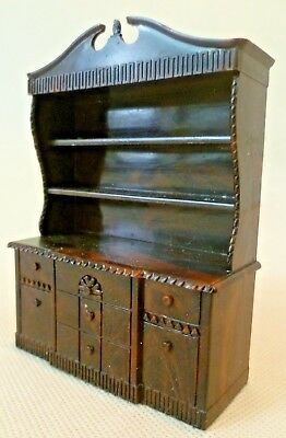Vintage Dolls House Furniture - Renwal D.52 Dresser - Circa 1950s USA
