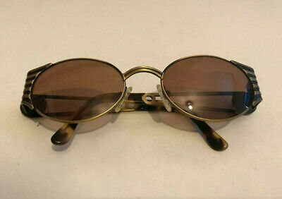 d47c56865ba1 Vintage OG 90 s Fendi Sunglasses Steampunk MOD. FS 142 Antique Bronze Retro  Oval