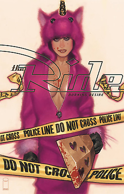RIDE BURNING DESIRE #1 (OF 5) CVR A Adam Hughes (Image Comics 2019) - 6/12/19