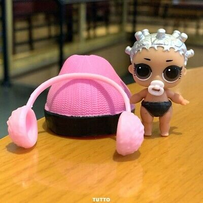 With hat LOL Surprise LiL Sisters L.O.L. beats hip hop club doll toy SERIES 2