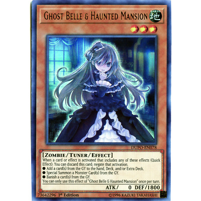 Ghost Belle & Haunted Mansion - DUPO-EN078 - Ultra Rare - 1st Edition
