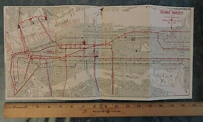 Upper West Side Subway Map.Rare 1915 Upper West Side Heating 40 P Photo Brochure New York City