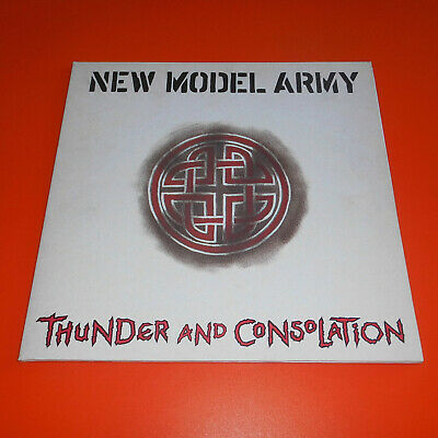 New Model Army ♪ Thunder And Consolation ♪ FOC ♪ LP [EX]