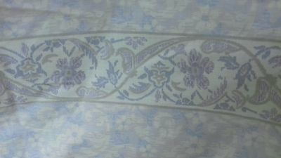 VINTAGE DORMA LULU  BOX PLEAT FITTED single  VALLNCE SHEET