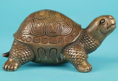 Unique Chinese Bronze Animal Statue Turtle Home Decoration Gift