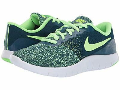 1ba4cedc13db0 Boys Nike flex Contact GS Sneakers Size 5Y Color Blue Force   Lime Blast