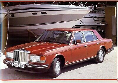 "BENTLEY ""Mulsanne S"" - 4-door Saloon - 1987 - British sales catalogue, prospekte"