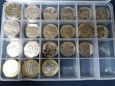 Fifty Pence Coin Storage Holder Container 264 x 50p Or 192 x £2 Pound Jewellery