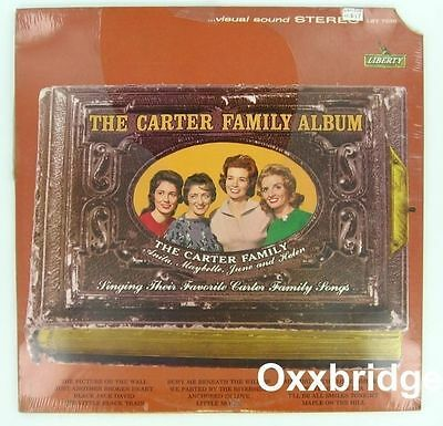 SEALED CARTER FAMILY ALBUM Johnny Cash LIBERTY Country Bluegrass Gospel The LP