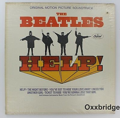 The Beatles Help Sealed Original 1965 Mono Mas-2386 Rare Rock Vinyl LP Lennon