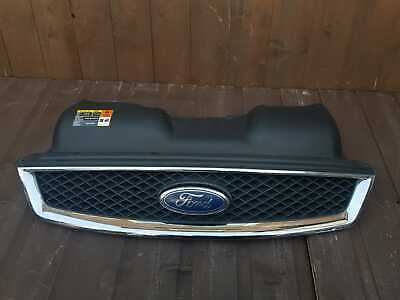 FORD FOCUS 2 MK2 II 04-08 FRONT CENTRE GRILLE CHROME BETWEEN HEADLIGHTS NEW