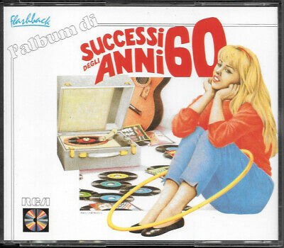 "Vari 2 Cd Fat Box ""l'album Di Successi Degli Anni 60"" 1987 Rca Nd 70236 (2) Raro"