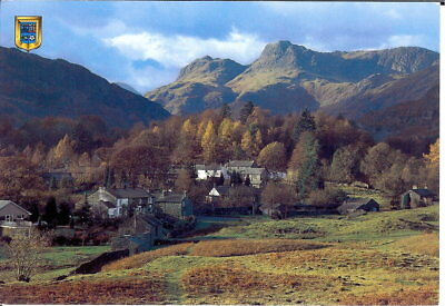 Lake District: Elterwater Village & Langdale Pikes - Posted c.1990's