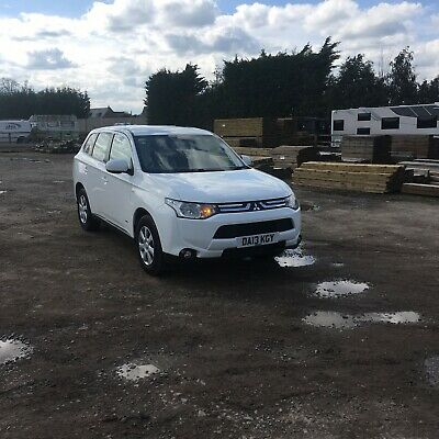 2013 13  Mitsubishi Outlander 2.2Di-D ( 148Bhp ) 4Work Commercial Price Is + Vat