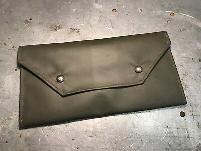 Army Land Rover Military Document Folder