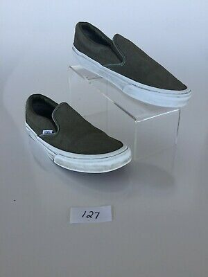 c928b4bbbc63 MOSSIMO SUPPLY CO. Women s Reese Slip On Sneakers - Olive Size 8.5 ...