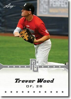 10-Count Lot TREVOR WOOD 2013 Leaf Perfect Game Rookie Silver RCs