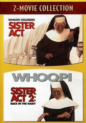 Sister Act / Sister Act 2 - Back in the Habit by Whoopi Goldberg NR DVD Comedy