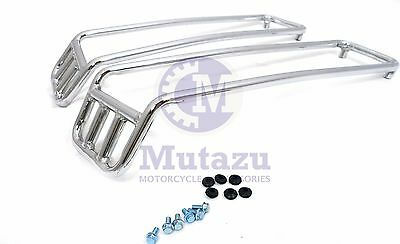 Mutazu Top Rail Guard for Harley hard Saddlebags Touring models. sold in a Pair