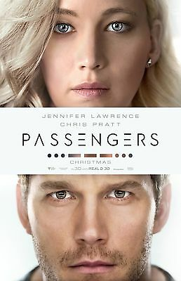 Passagers Affiche Film - 27.9cm X 43.2cm - Jennifer Lawrence, Chris Pratt