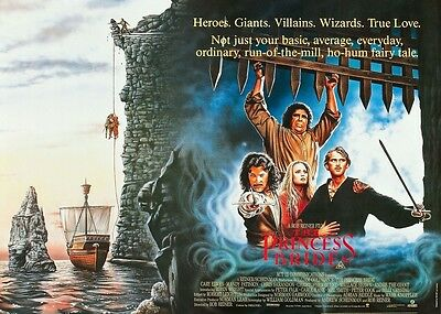 The Princess Bride movie poster print 12 x 16 inches, Cary Elwes, Mandy Patinkin
