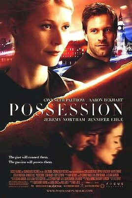 Possession Filmposter ~ Original 27x40 Gwyneth Paltrow Aaron Eckhart