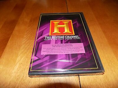 ROMAN EMPERORS Ancient Rome Empire Empires Ancient War History Channel DVD NEW