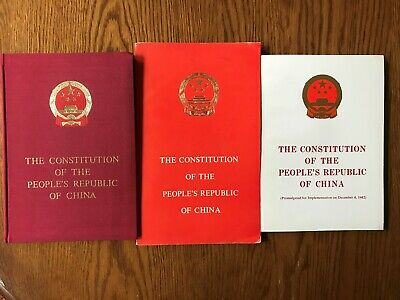 Three Constitutions of the People's Republic of China: 1975, 1978, 1982