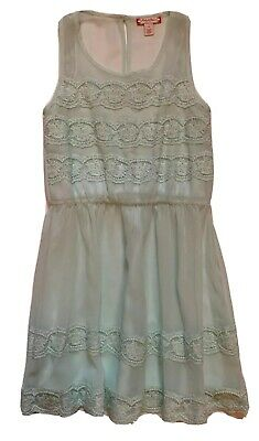 5f08f537e23e Ruby & Bloom Girls Spring/Summer Mint Green Lace Party Dress Sz 8 from  Nordstrom