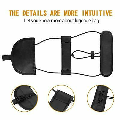 Travel Luggage Straps Suitcase Adjustable Belt Tape Add A Bag Carry On Bungee AU