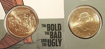 2019 $1 New effigy Bushrangers Bold Bad Ugly Easter show S mint mark MYO
