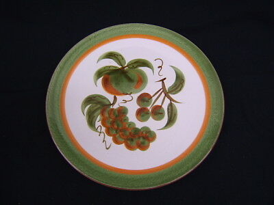"""Vintage Stangl Chop Plate Orchard Song 12 1/4"""" Diameter VGC"""