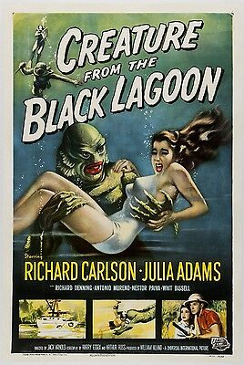 Creature From The Black Lagoon movie poster : 11 x 17 inches
