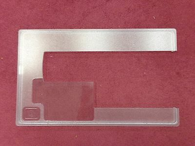 "Horn Cabinet Acrylic Singer 1507 Sewing Machine Insert 11-1/4""x19"""
