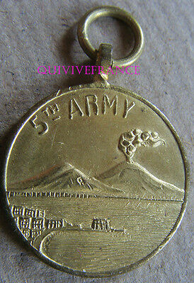 DEC4755 - MEDAILLE COMMEMORATIVE 5th ARMY - NAPLES 1943