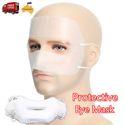100pcs Protective Hygiene Eye Mask For VR Glasse Disposable Non-woven Cover AU