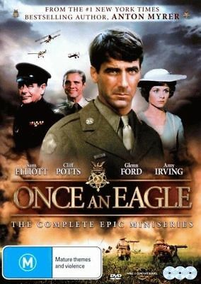 Once An Eagle - The Mini Series (DVD, 3-Disc Set) BRAND NEW SEALED