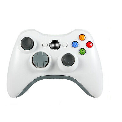 New 2.4GHz Wireless Gamepad for Xbox 360 Game Controller Joystick White